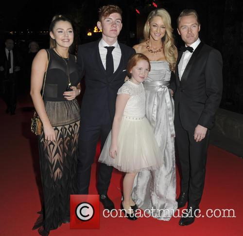 Ronan Keating's Emeralds & Ivy ball