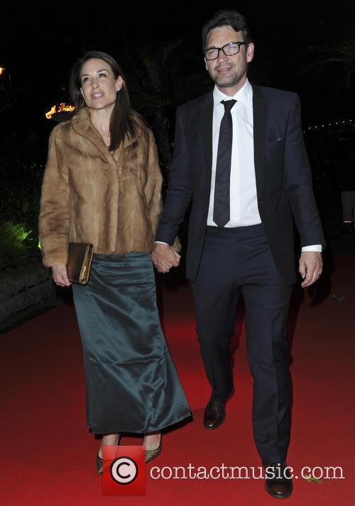 Dougray Scott, Claire Forlani and Ronan Keating 2