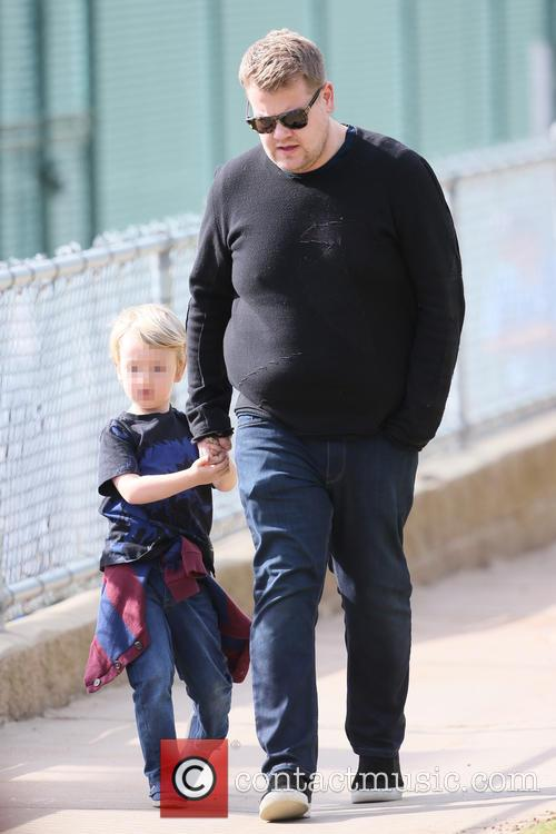 James Corden and Max Corden 3