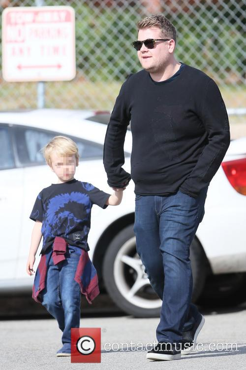 James Corden and Max Corden 5