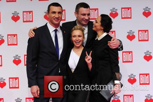 Hayden Panettieri, Wladimir Klitschko, Natalie Klitschko and Vitali Klitschko 4