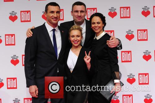 Hayden Panettieri, Wladimir Klitschko, Natalie Klitschko and Vitali Klitschko 6