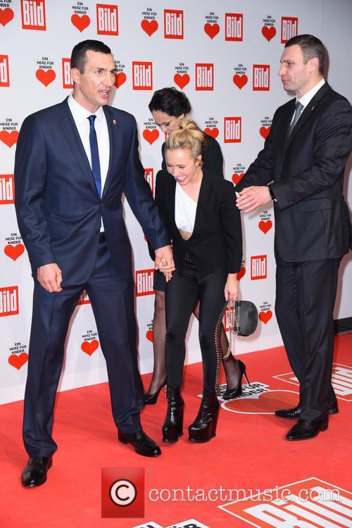 Wladimir Klitschko, Hayden Panettiere, Natalia Klitschko and Vitali Klitscho 1