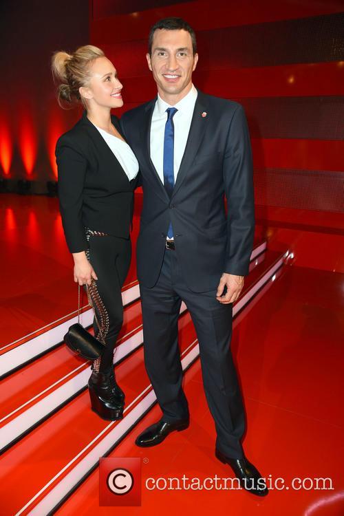 Hayden Panettiere and Wladimir Klitschko 2