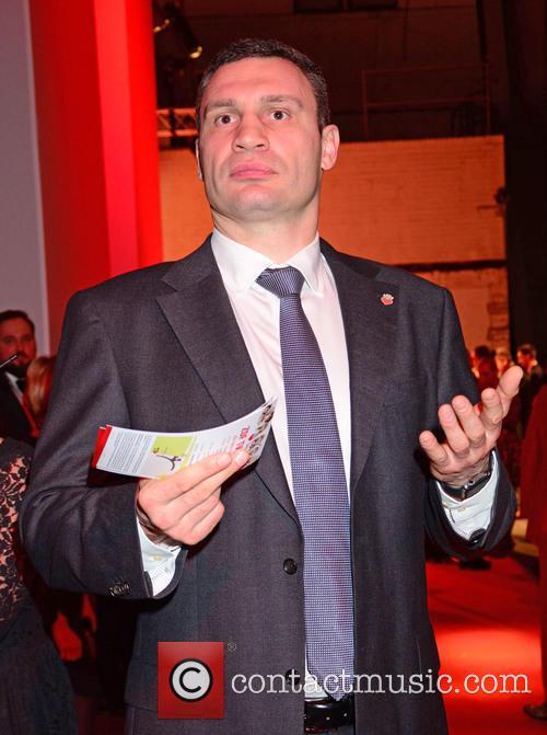 Hayden Panettiere joins Wladimir Klitschko at German charity...