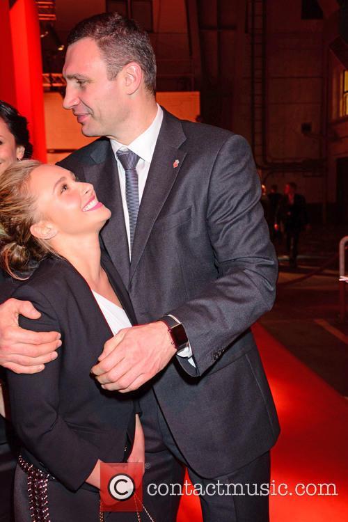 Wladimir Klitschko and Hayden Panettiere 2
