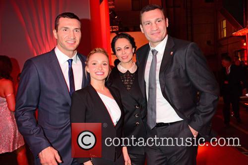 Wladimir Klitschko, Hayden Panettiere, Natalia Klitschko and Vitali Klitschko 5