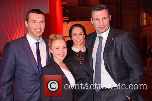 Wladimir Klitschko, Hayden Panettiere, Natalia Klitschko and Vitali Klitschko 6