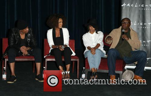 Nick Cannon, Angela Bassett, Teyonah Parris and Steve Harris 2