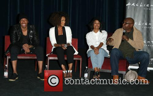 Nick Cannon, Angela Bassett, Teyonah Parris and Steve Harris 3