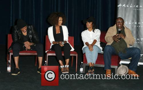 Nick Cannon, Angela Bassett, Teyonah Parris and Steve Harris 4