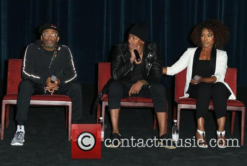 Nick Cannon, Angela Bassett and Teyonah Parris 5