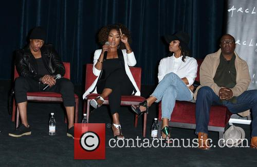 Nick Cannon, Angela Bassett, Teyonah Parris and Steve Harris 9