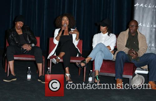 Nick Cannon, Angela Bassett, Teyonah Parris and Steve Harris 10