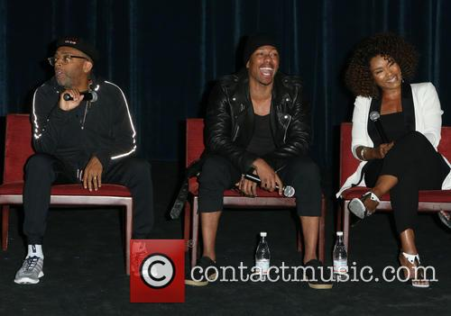 Spike Lee, Nick Cannon and Angela Bassett 7