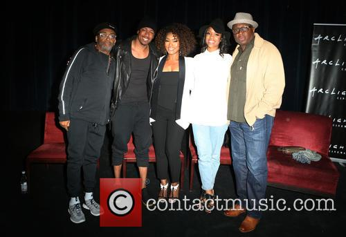 Spike Lee, Nick Cannon, Angela Bassett, Teyonah Parris and Steve Harris 8