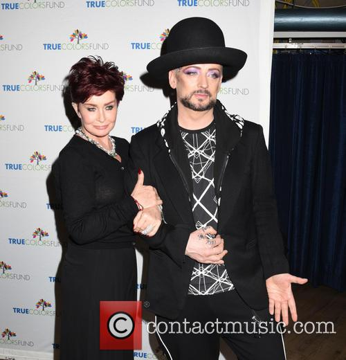 Sharon Osbourne and Boy George 1