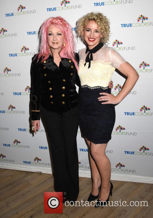 Cyndi Lauper and Cam 1