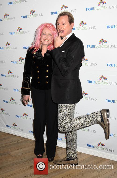 Cyndi Lauper and Carson Kressley 4
