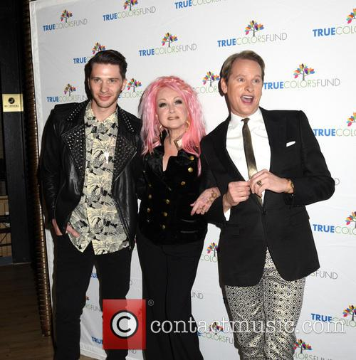 Joey Taranto, Cyndi Lauper and Carson Kressley 1