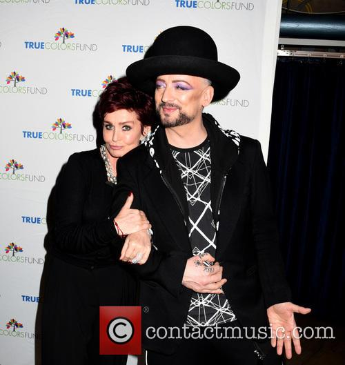 Sharon Osbourne and Boy George 2