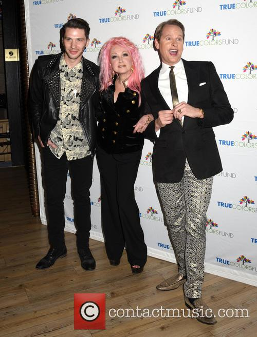 Joey Taranto, Cyndi Lauper and Carson Kressley 2