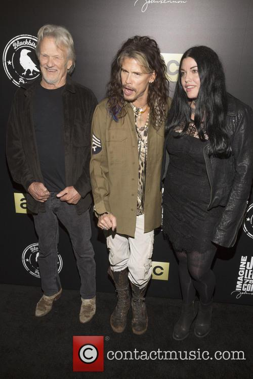 Kris Kristofferson, Steven Tyler and Mia Tyler 3
