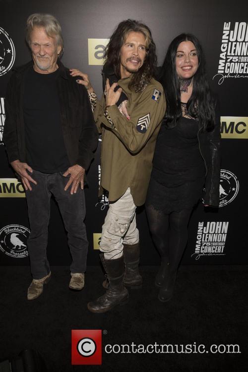 Kris Kristofferson, Steven Tyler and Mia Tyler 7