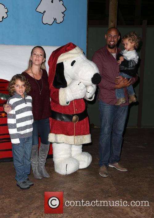 Hank Baskett, Alijah Baskett and Kendra Wilkinson 2