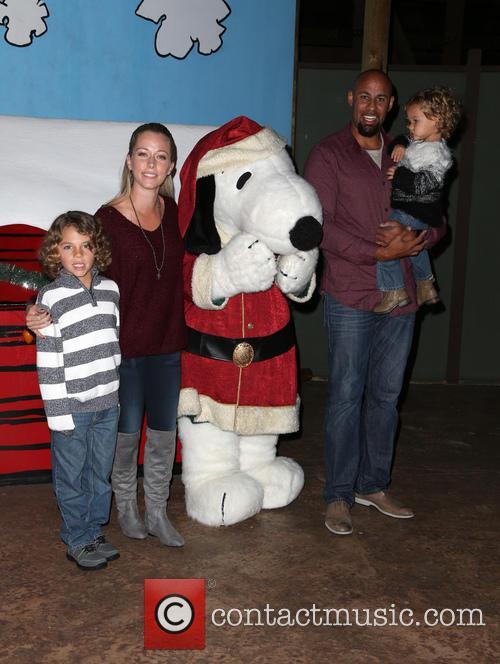 Hank Baskett, Alijah Baskett and Kendra Wilkinson 3
