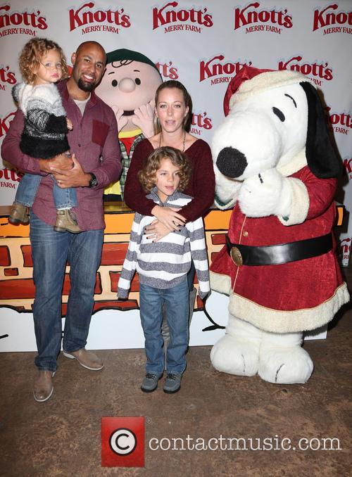 Hank Baskett, Alijah Baskett and Kendra Wilkinson 6