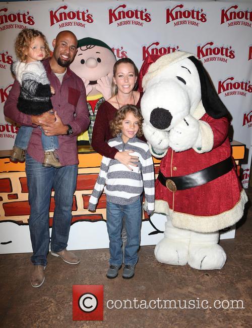 Hank Baskett, Alijah Baskett and Kendra Wilkinson 8