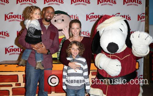 Hank Baskett, Alijah Baskett and Kendra Wilkinson 10