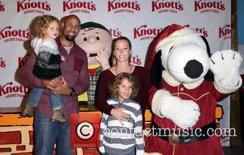 Hank Baskett, Alijah Baskett and Kendra Wilkinson 11