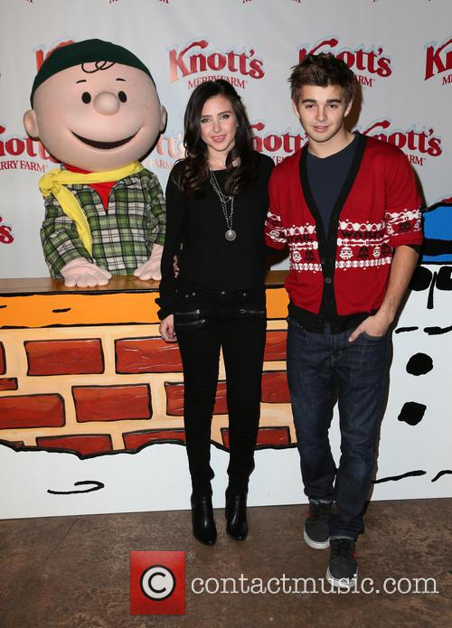 Ryan Newman and Jack Griffo 7