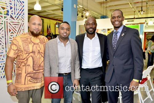 Mecca Grimo Marcelin, Stephane Gilles, Jimmy Jean-louis and Richard Nelson 3