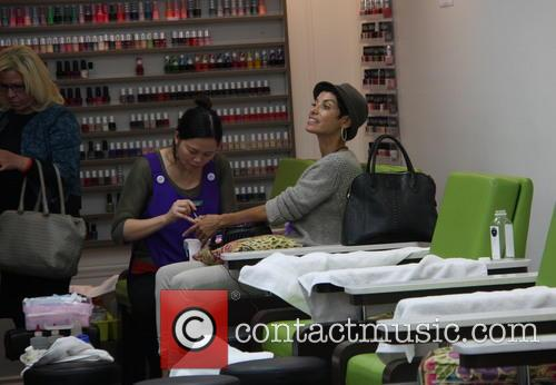 Nicole Mitchell Murphy gets her nails done in...
