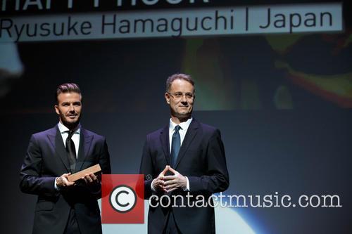 David Beckham and George Tanasijevich 2