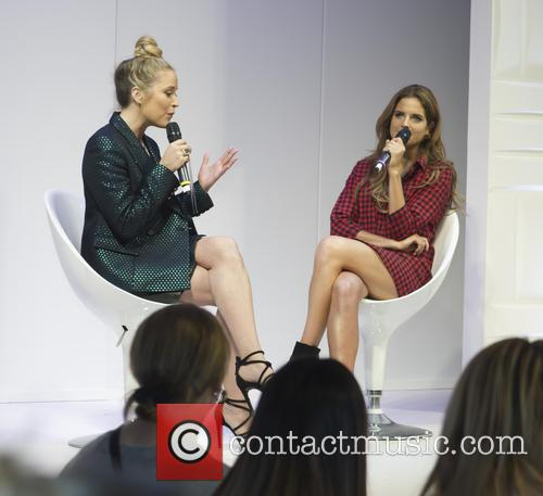 Caryn Franklin and Binky Felstead 2