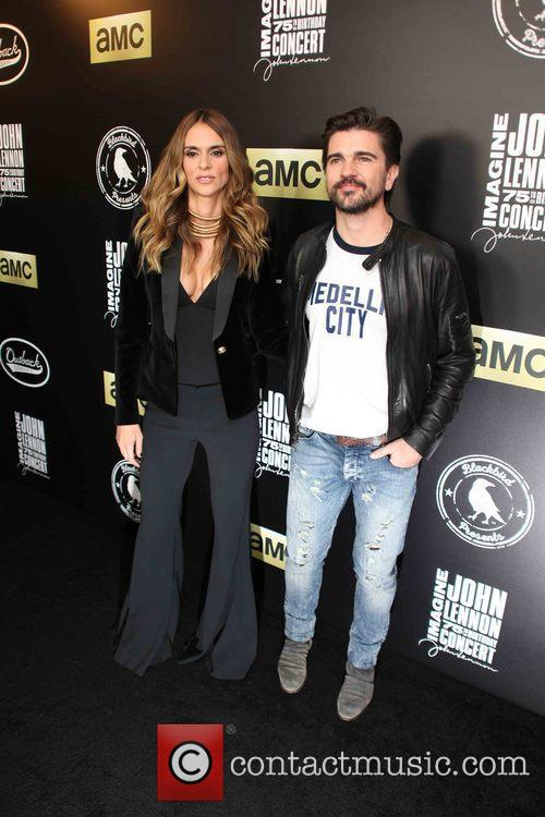 Karen Martinez and Juanes 2