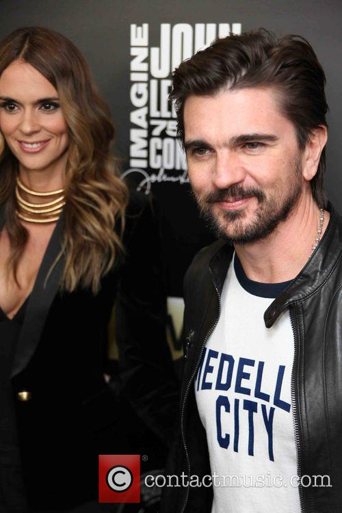 Karen Martinez and Juanes 4