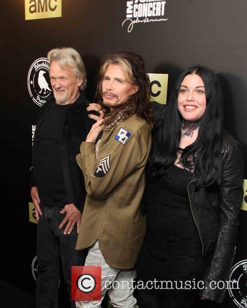 Kris Kristofferson, Steven Tyler and Mia Tyler 10
