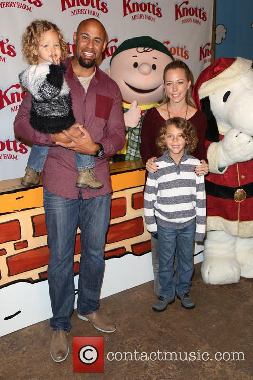 Kendra Wilkinson, Hank Baskett and Alijah Mary Baskett 11