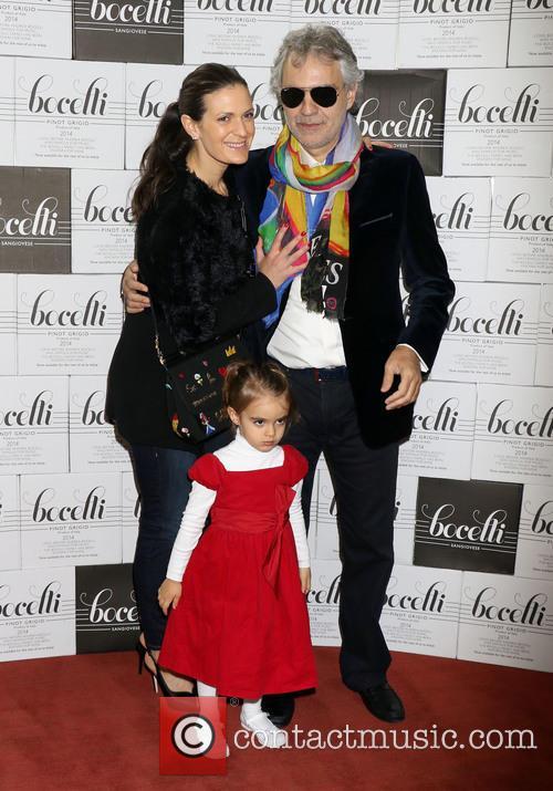 Andrea Bocelli, Veronica Berti and Virginia Bocelli 3