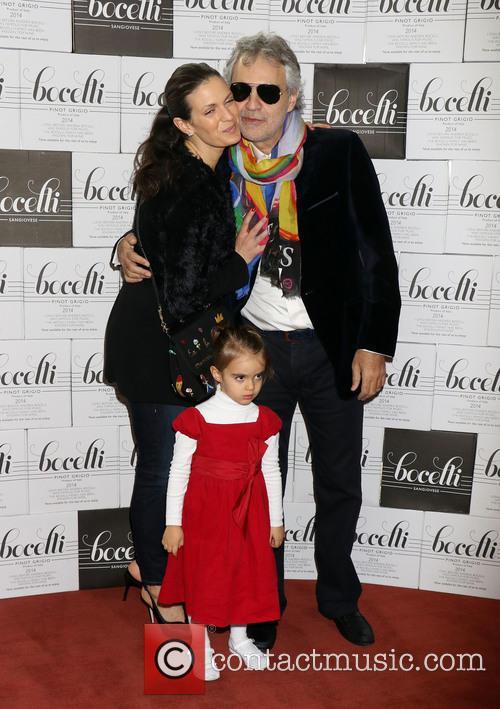 Andrea Bocelli, Veronica Berti and Virginia Bocelli 4