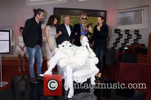 Gualtiero Vanelli, Camille Ruvo, Larry Ruvo, Andrea Bocelli and Veronica Berti 2