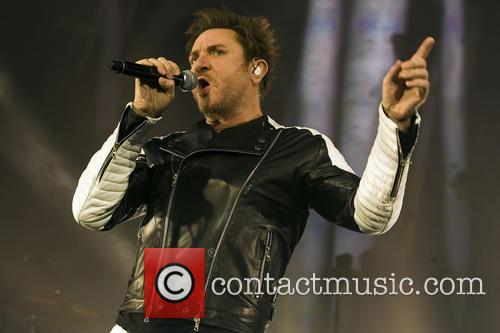 Duran Duran and Simon Le Bon