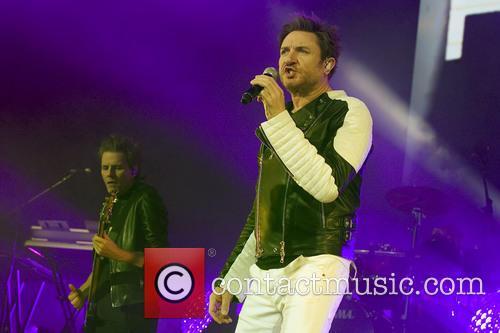 Duran Duran and Simon Le Bon 2