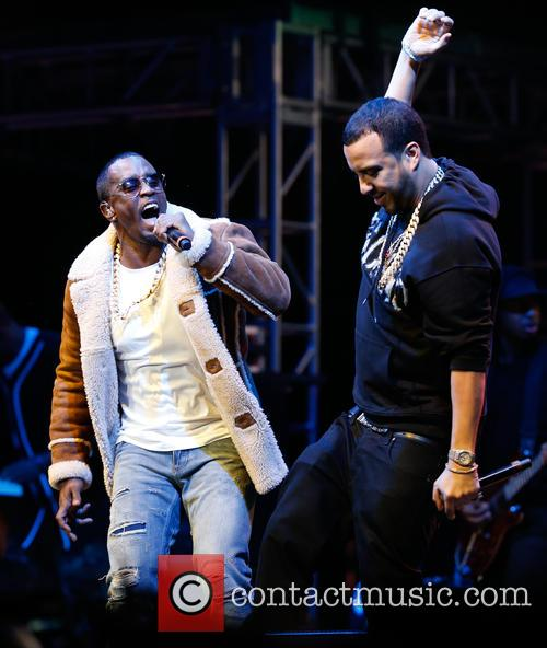 Sean Combs, French Montana and P. Diddy 5
