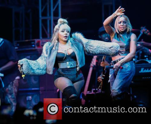 Lil Kim and Mary J. Blige 1